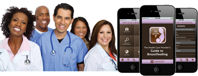 Image of doctors and an iPhone