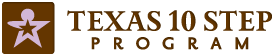 Texas 10 Step Program logo